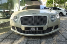 2012 BENTLEY CONTINENTAL GT W12 2012 IMPORTED NEW