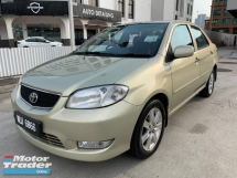 2004 TOYOTA VIOS 1.5G (AT) Air-Bag & ABS Brake System,4 x New Tyres,Confirm No Accident Record,Original Condition 80% Like New,Test Drive Welcome'