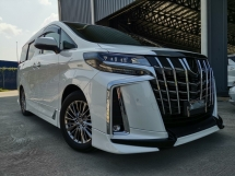 2018 TOYOTA ALPHARD 3.5 Executive Lounge TRD Bodykit JBL Home Theater Sound 360 Camera Full Spec Unreg Sale Offer