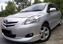 2008 TOYOTA VIOS 1.5 S SPEC (A) F-LOAN / 1 CAREFUL OWNER / LOW MILEAGE / WELL MAINTAINED CAR / FUEL SAVE