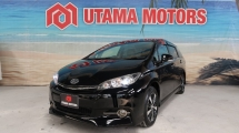 2015 TOYOTA WISH 1.8 S MONOTONE PUSH START SEMI LEATHER SEATS