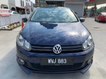 2011 VOLKSWAGEN GOLF 1.4 TSI (DSG) 1 Lady Owner/Ori Low Mileage/Confirm Accident Free/Free BodyKits/Test Drive Welcome'