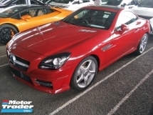 2016 MERCEDES-BENZ SLK 2.0cc PANAROMIC ROOF AMG BUCKET LEATHER SEATS 18 INCH AMG SPORT RIM FREE WARRANTY