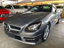 2015 MERCEDES-BENZ SLK 200 AMG Convertible (A) UNREG NEGO!