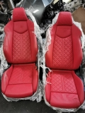 AUDI TT MK3 SPORT SEAT RED LEATHER Int. Accessories > Interior parts