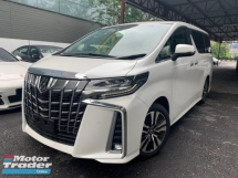 2018 TOYOTA ALPHARD 2.5 SC JBL 4 CAMERA SUNROOF HOME THEATRE LKA DIM PRE CRASH UNREG