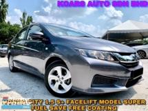 2016 HONDA CITY 1.5 S + SUPER LOW MILEAGE DEMO UNIT CAR
