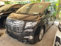 2016 TOYOTA ALPHARD SA Surround Camera Power Boot Local AP Unreg