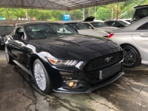 2015 FORD MUSTANG Unreg Ford Mustang GT Coupe 2.3 ECOBOOST Turbocharged Camera Push Start Engine