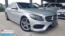 2014 MERCEDES-BENZ C-CLASS 2014 Mercedes C180 AMG Power Boot Head Up Display Full Leather Radar Blind Spot LKA Unregister for sale