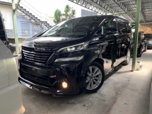 2016 TOYOTA VELLFIRE 2.5 Z SPEC HIGH SPEC ** ALPINE DVD PLAYER / ALPINE ROOF MONITOR ** FREE 4 YEAR WARRANTY ** BEST OFFER **