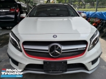 2016 MERCEDES-BENZ GLA 45 2.0 AMG 4MATIC SPORTS EXHAUST AND HARMON KARDON