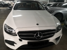 2018 MERCEDES-BENZ E-CLASS E300 AMG PRE OWNED RM328,000  WARRANTY TILL 2023