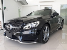 2016 MERCEDES-BENZ C-CLASS C180 AMG LINE COUPE JAPAN SPEC
