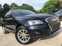 2012 AUDI Q5 2.0 TFSI QUATTRO S-LINE (A) LOCAL CBU FULL SPEC LUCKY DRAW 3k + REBATE