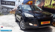 2014 FORD KUGA 1.6 GTDI ECOBOOST ( A ) AWD !! NEW FACELIFT !! PUSH START PADDLE SHIFT POWER BOOT !! PREMIUM SUV FULL SPECS !! ( WXX 1001 ) 1 CAREFUL OWNER !!