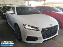 2015 AUDI TT 2.0 UK SPEC PADDLE SHIFT MULTI FUNCTION STEERING LANE ASSIST FREE WARRANTY LOCAL AP