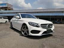 2014 MERCEDES-BENZ C-CLASS C180 AMG JAPAN SPEC UNREGISTERED