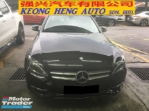 2015 MERCEDES-BENZ C-CLASS C200 AVT (A) LIKE NEW