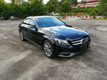 2015 MERCEDES-BENZ C-CLASS C180 AVANTGARDE SPORT UNREGISTERED