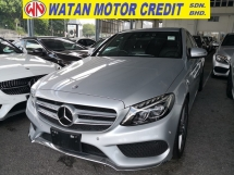 2014 MERCEDES-BENZ C-CLASS C180 1.6 AMG JAPAN UNREG