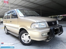 2001 TOYOTA UNSER Toyota Unser 1.8 AT ONE OWNER TIPTOP CONDITION