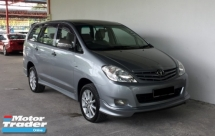 2011 TOYOTA INNOVA 2.0E (A) 7-Seater Superb Condition