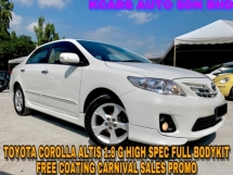 2011 TOYOTA COROLLA ALTIS 1.8 G HIGH SPEC CARNIVAL SALES
