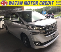 2016 TOYOTA VELLFIRE 2.5 V SPEC 8 SEATERS POWER BOOTH 2 POWER DOORS 4 CAMERA 2016 JAPAN UNREG