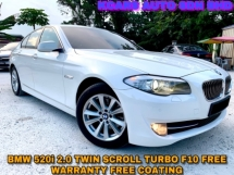 2014 BMW 5 SERIES 520I NICE NUMBER PLATE FREE WARRANTY