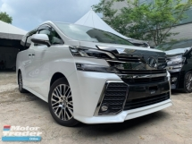 2017 TOYOTA VELLFIRE 2.5 ZG SUNROOF PRE CRASH PILOT SEATS 3 POWER DOOR UNREG