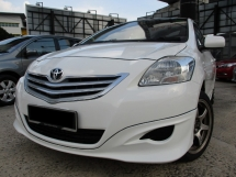 2012 TOYOTA VIOS 1.5 (A) F/S/Rcord