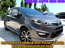 2016 PROTON IRIZ 1.6 Premium F/SPEC P/START LEATHER SEAT FREE COATING