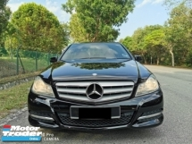 2012 MERCEDES-BENZ C-CLASS C180 BLUE EFFICIENCY - SUPERB COND LIKE NEW FEEL
