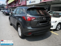 2015 MAZDA CX-5 2.0 SKYACTIV G TRUE YEAR MADE 2015 Push Start Leather High SPec