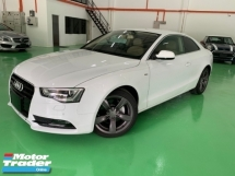 2014 AUDI A5 2.0 TFSI QUATTRO COUPE JAPAN UNREG