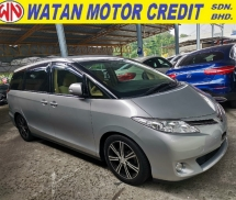 2014 TOYOTA ESTIMA 2.4 X 8 Seater Unregister 1 YEAR WARRANTY