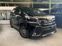 2016 TOYOTA VELLFIRE 2.5 ZG PILOT SEATS ** SUNROOF / PRE CRASH / ALPINE DVD PLAYER / ALPINE ROOF MONITOR ** FREE 4 YEAR WARRANTY ** BEST OFFER