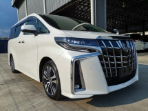 2018 TOYOTA ALPHARD 2.5 SC Pre Crash PB Unreg Sale Offer
