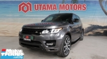 2014 LAND ROVER RANGE ROVER SPORT 5.0 SUPERCHARGED HSE DYNAMIC 5.0 PETROL PANORAMIC ROOF VACUUM DOOR MERDEKA SALE