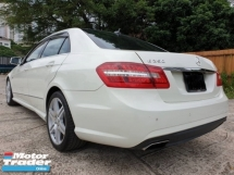 2012 MERCEDES-BENZ E-CLASS E250 AVANTGARDE FULL SPEC