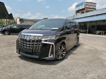 2018 TOYOTA ALPHARD 2.5 SC New Face-lift Sunroof Unregistered