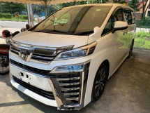 2018 TOYOTA VELLFIRE 2.5ZG(A)FACELIFT 2LED ALPINE SUNROOF