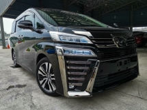 2018 TOYOTA VELLFIRE 2.5ZG Edition Sunroof Pre Crash Leather Seat Unreg Sale Offer