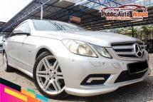 2011 MERCEDES-BENZ E-CLASS Mercedes Benz E250 COUPE AMG 1.8 PANORAMIC FL/SPEC