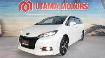 2014 TOYOTA WISH 1.8 S MONOTONE PUSH START SEMI LEATHER SEATS MID YEAR SALE