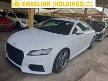 2015 AUDI TT 2.0 TFSI S-Line Push Start Local AP Unreg