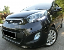 2014 KIA PICANTO 1.2 (A) F-LOAN / FULL SERVICE KIA / PUSH START / REVERSE CAMERA / FUEL SAVE / PREVIOUS OWNER UPGRADE TO SUV CAR