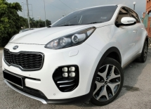 2016 KIA SPORTAGE 2.0 GT (A) F-LOAN / FULL SERVICE BY KIA / ORIGINAL CONDITIONS / 1 OWNER / PUSH START / LEATHER SEAT / LOW MILEAGE