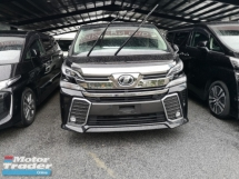 2015 TOYOTA VELLFIRE TOYOTA VELLFIRE 2.5 ZG. TV. HIGH TRADE IN.